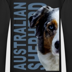 Australian Shepherd Dog Hoodies - Men's Premium Long Sleeve T-Shirt