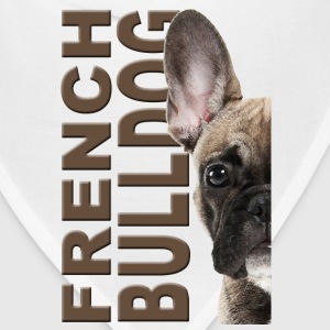 French Bulldog Women's T-Shirts - Bandana