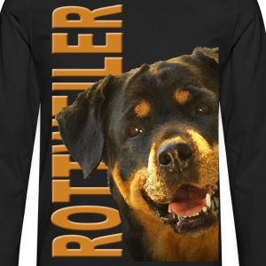 Rottweiler T-Shirts - Men's Premium Long Sleeve T-Shirt