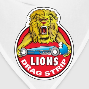 Lions Drag Strip - Baseball Tee - Bandana