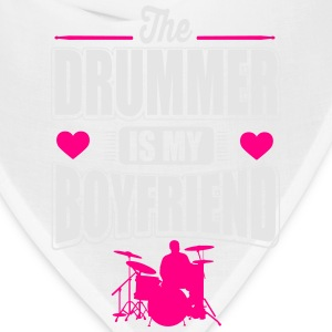 The drummer is my boyfriend Tanks - Bandana