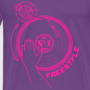 freestyle deejay Tanks - Men's Premium T-Shirt