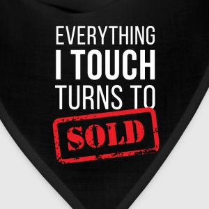 Everything turns to sold Real Estate T-shirt T-Shirts - Bandana