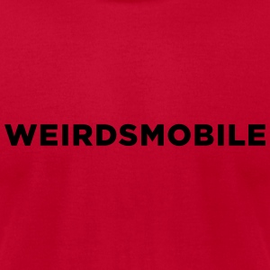 Weirdsmobile - Christmas Long Sleeve Shirts - Men's T-Shirt by American Apparel
