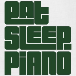 eat sleep piano text t-shirt - Bandana
