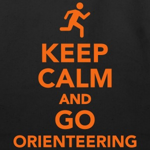 Keep calm and go Orienteering T-Shirts - Eco-Friendly Cotton Tote