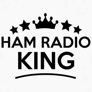 ham radio king stars t-shirt - Men's Premium Long Sleeve T-Shirt