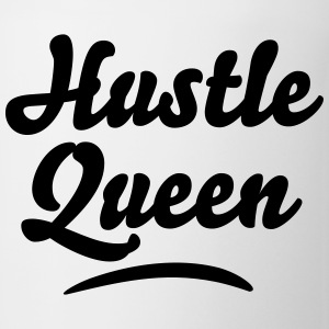 hustle queen t-shirt - Coffee/Tea Mug