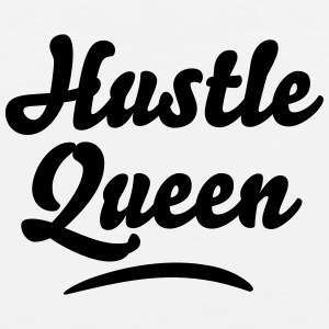 hustle queen t-shirt - Men's Premium Tank