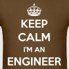 KEEP CALM I'M AN ENGINEER T-SHIRT - Men's T-Shirt