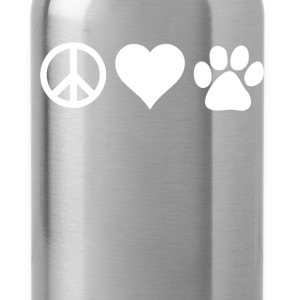 Peace Love Paws Veterinarian T-shirt Women's T-Shirts - Water Bottle