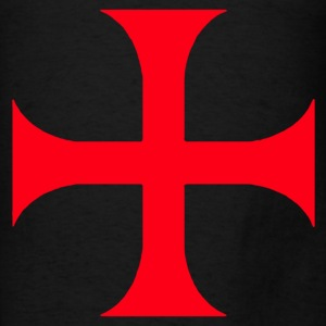 Templar Red Cross  - Men's T-Shirt