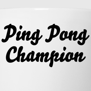 ping pong champion t-shirt - Coffee/Tea Mug
