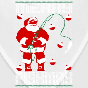 Santa Merry Fishmas Kids' Shirts - Bandana