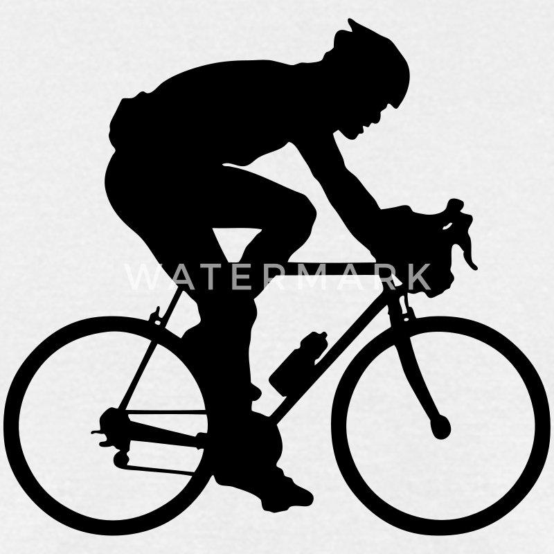 road race cyclist silhouette T-Shirt | Spreadshirt