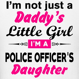 Im Not A Daddy Little Girl Im A Police Officer Long Sleeve Shirts - Men's T-Shirt