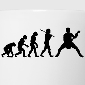 rock out guitarist evolution t-shirt - Coffee/Tea Mug