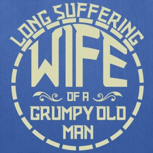 Long Suffering Wife Of A Grumpy Old Man - Tote Bag