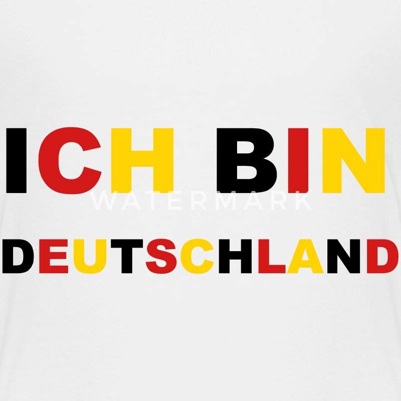 Ich bin Deutschland Germany German Soccer  - Toddler Premium T-Shirt