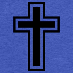 Christian Cross - Fitted Cotton/Poly T-Shirt by Next Level
