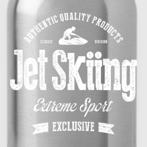 JetSkiing Extreme Sport White Art - Water Bottle