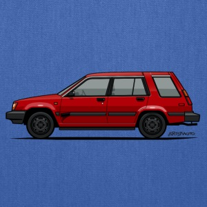 Jesse Pinkman's Crappy Red Toyota Tercel SR5 4WD  Hoodies - Tote Bag