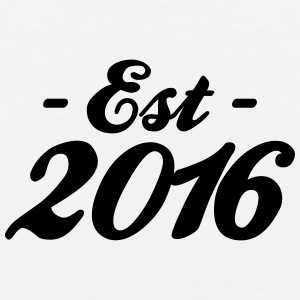 established 2016 Baby & Toddler Shirts - Men's Premium Tank