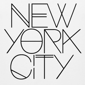 NYC, new york, new york city, manhattan - Men's Premium Tank