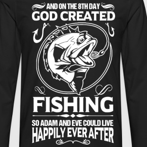 fishing, funny fishing, fishing humor, fisherman - Men's Premium Long Sleeve T-Shirt