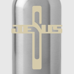 Jesus tees, cool christian t shirts Charlie jesus - Water Bottle