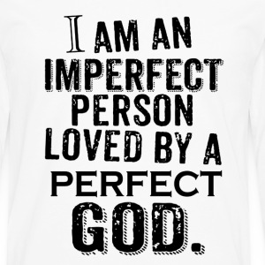 God love by PERFECT GOD and christian Jesus - Men's Premium Long Sleeve T-Shirt
