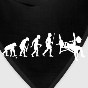 Funny Bodybuilding weightlifting lift weight - Bandana