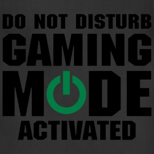 Do Not Disturb Gaming Mode Activated T-Shirts - Adjustable Apron