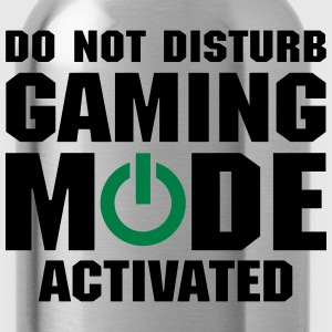 Do Not Disturb Gaming Mode Activated T-Shirts - Water Bottle