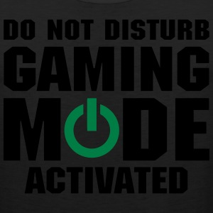 Do Not Disturb Gaming Mode Activated T-Shirts - Men's Premium Tank