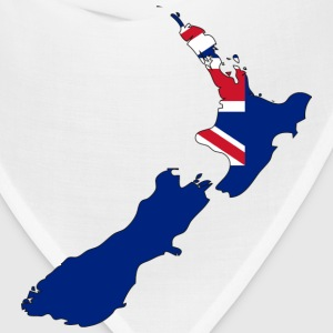 New Zealand Flag Map.png T-Shirts - Bandana