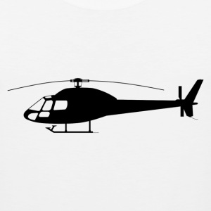 Helicopter_silhouette.svg.png T-Shirts - Men's Premium Tank