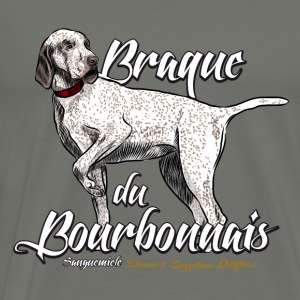 braque du bourbonnais Hoodies - Men's Premium T-Shirt