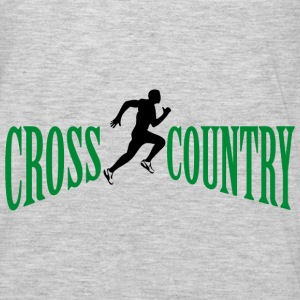 Cross country Hoodies - Men's Premium Long Sleeve T-Shirt
