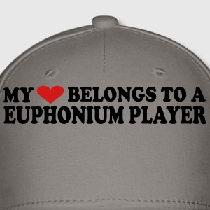 My heart belongs to a Euphonium Player - Baseball Cap