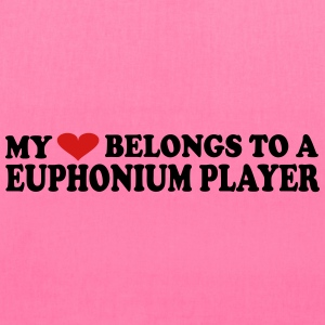 My heart belongs to a Euphonium Player - Tote Bag