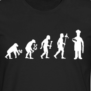 Evolution of Baker - Men's Premium Long Sleeve T-Shirt