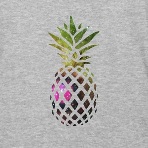 Galaxy Pineapple - Baseball T-Shirt