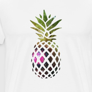 Galaxy Pineapple T-Shirts - Men's Premium T-Shirt