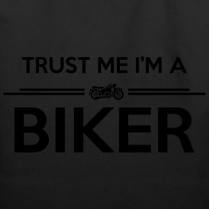 trust me I'm a biker Hoodies - Eco-Friendly Cotton Tote