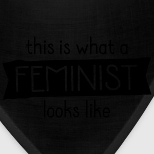 This Is What A Feminist Looks Like Women's T-Shirts - Bandana
