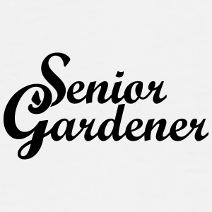 Senior Gardener Baseball Cap - Men's Premium T-Shirt