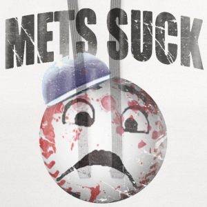 Mets Suck Funny Baseball T-Shirts - Contrast Hoodie