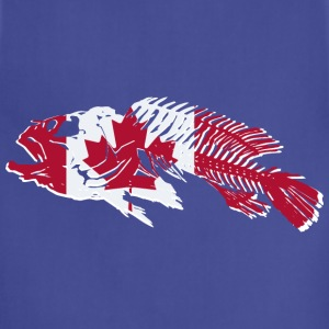 Fish - Canada Flag T-Shirts - Adjustable Apron
