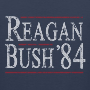 Reagan Bush 84 T-Shirts - Men's Premium Tank